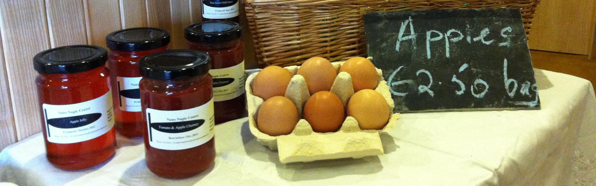 Eggs & Preserves